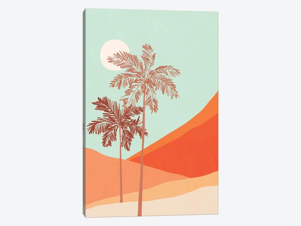 Palm Duo by Dominique Vari 1-piece Canvas Art Print