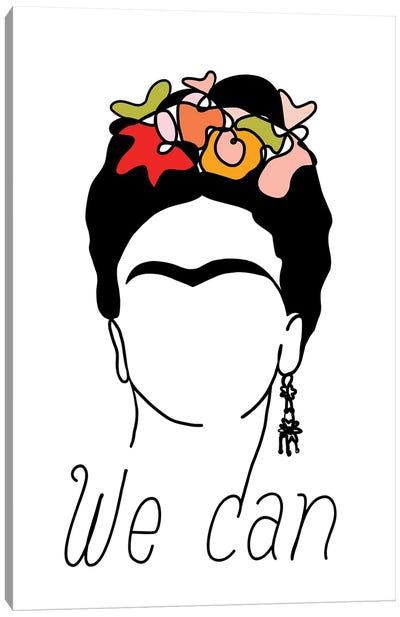 Frida We Can Canvas Art Print