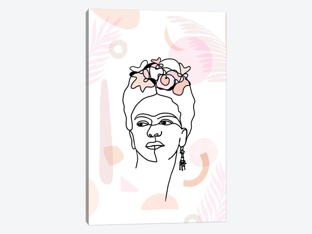 Frida Kahlo II by Dominique Vari 1-piece Canvas Print
