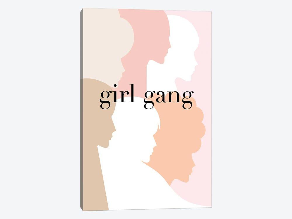 Girl Gang Pastel Pink by Dominique Vari 1-piece Art Print