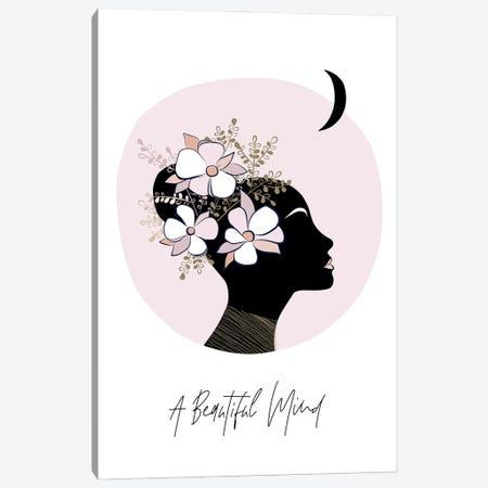 Girl II A Beautiful Mind Canvas Print #DVR27} by Dominique Vari Art Print
