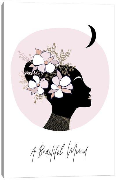 Girl II A Beautiful Mind Canvas Art Print