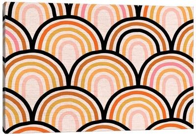 Growing Rainbow Blush Mat I Canvas Art Print