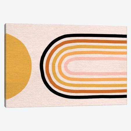 Growing Rainbow Blush Mat III Canvas Print #DVR39} by Dominique Vari Canvas Print