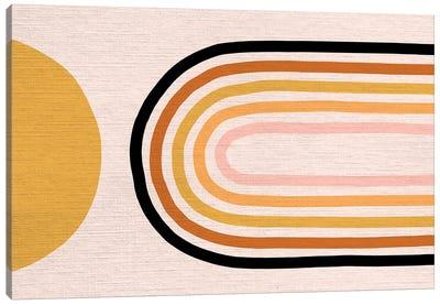 Growing Rainbow Blush Mat III Canvas Art Print