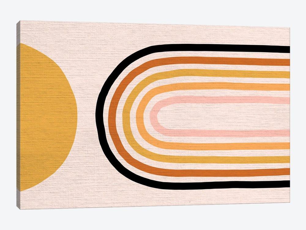 Growing Rainbow Blush Mat III by Dominique Vari 1-piece Canvas Print