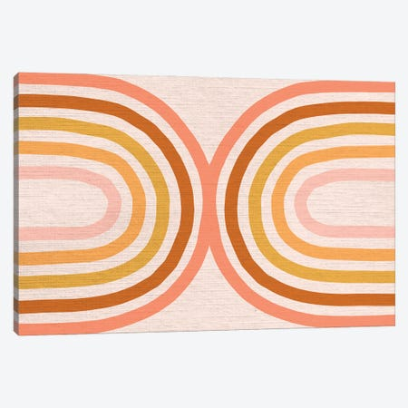 Growing Rainbow Blush Mat IV Canvas Print #DVR40} by Dominique Vari Canvas Art