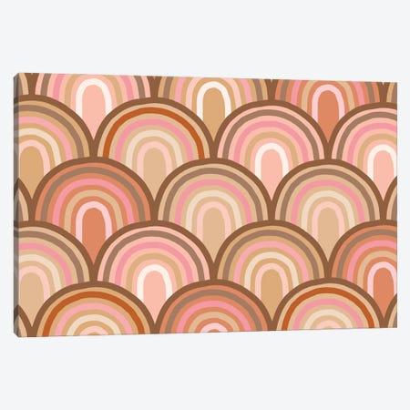 Growing Rainbows II Canvas Print #DVR46} by Dominique Vari Art Print