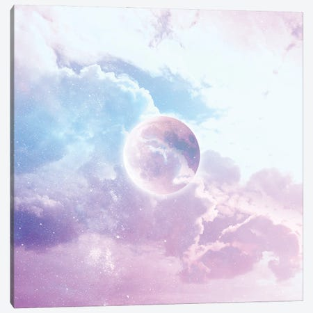 Iridescent Moon Candy Canvas Print #DVR48} by Dominique Vari Canvas Art