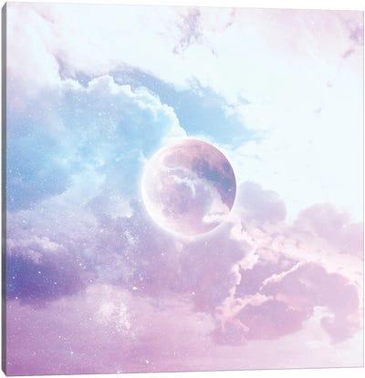 Iridescent Moon Candy Canvas Art Print
