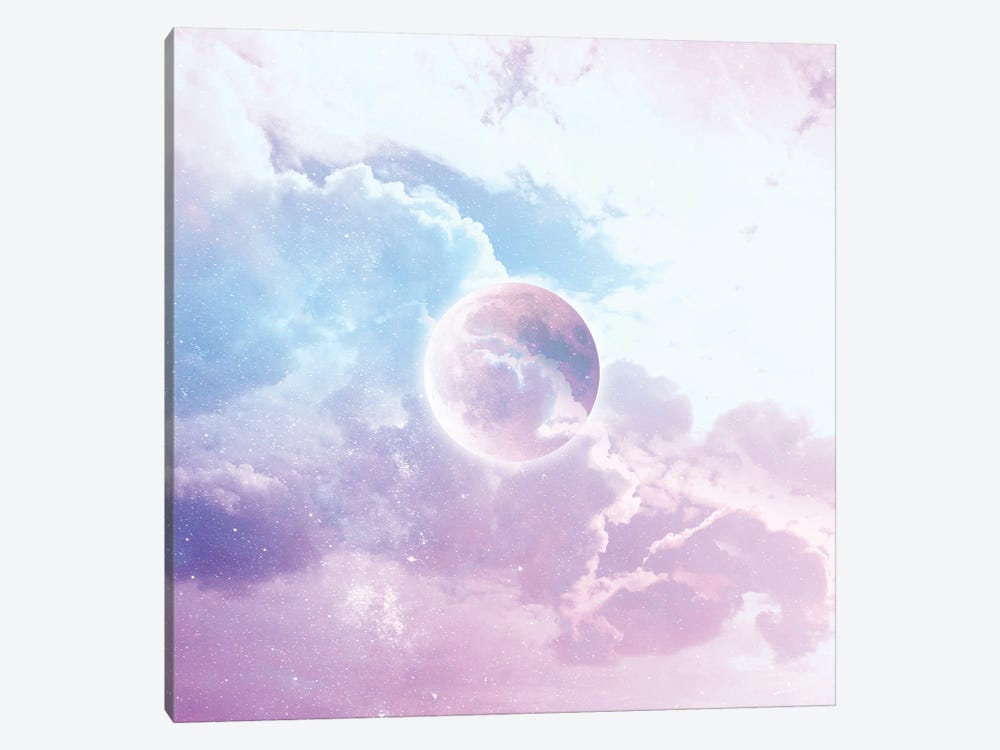 Iridescent Moon Candy by Dominique Vari 1-piece Canvas Print