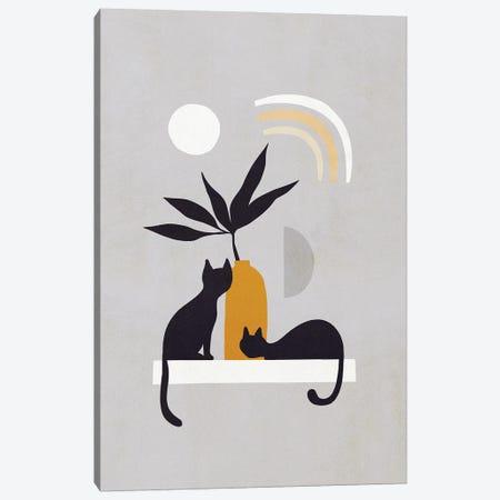 Cats And Nature IB Canvas Print #DVR4} by Dominique Vari Canvas Wall Art
