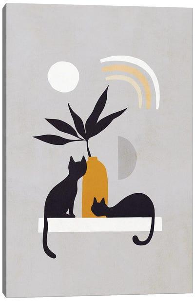 Cats And Nature IB Canvas Art Print