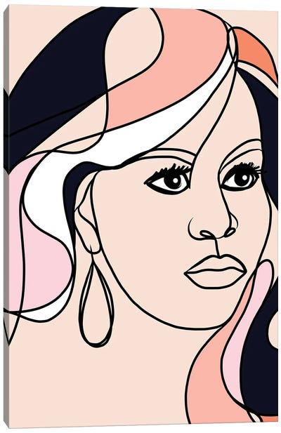 Michelle Portrait You First  Canvas Art Print