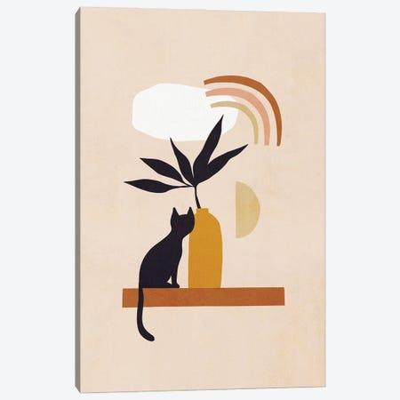 Cats And Nature II Canvas Print #DVR5} by Dominique Vari Canvas Art