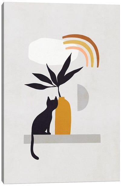 Cats And Nature IIB Canvas Art Print