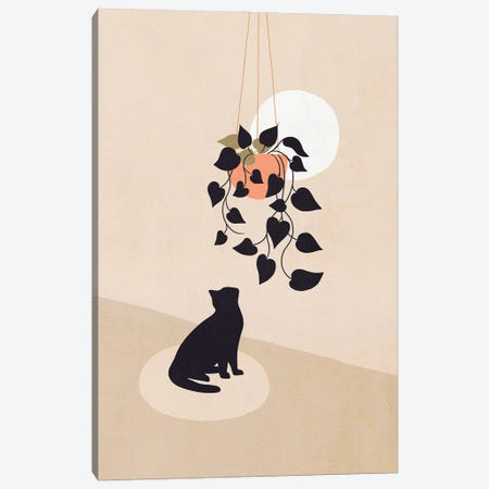 Cats And Nature III Canvas Print #DVR7} by Dominique Vari Canvas Wall Art