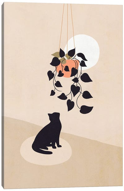 Cats And Nature III Canvas Art Print