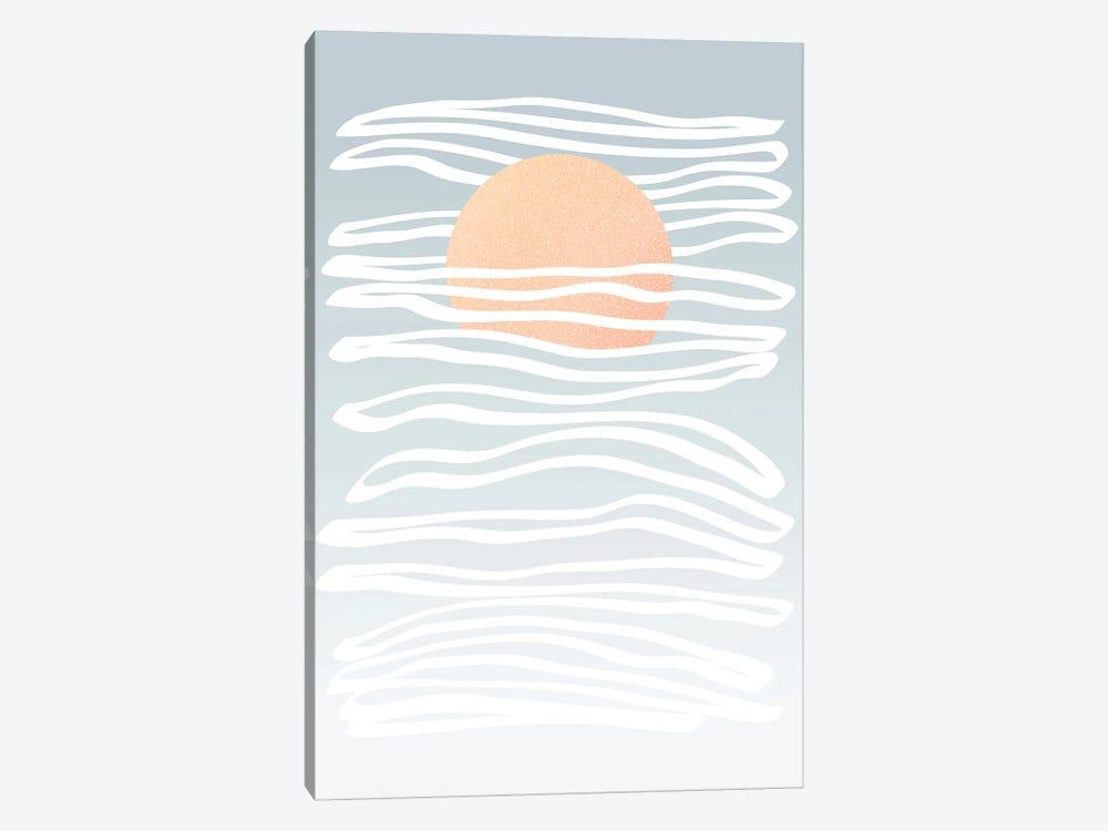 Minimal Sun Stream by Dominique Vari 1-piece Canvas Print