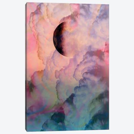 Moon On Renaissance Sky Canvas Print #DVR88} by Dominique Vari Canvas Artwork