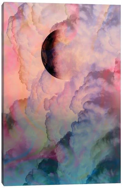 Moon On Renaissance Sky Canvas Art Print
