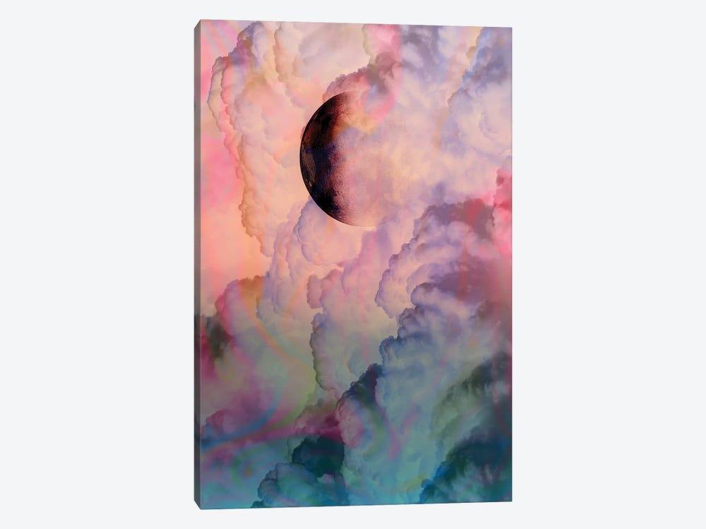 Moon On Renaissance Sky by Dominique Vari 1-piece Canvas Print