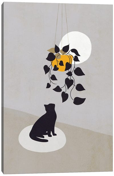 Cats And Nature IIIB Canvas Art Print