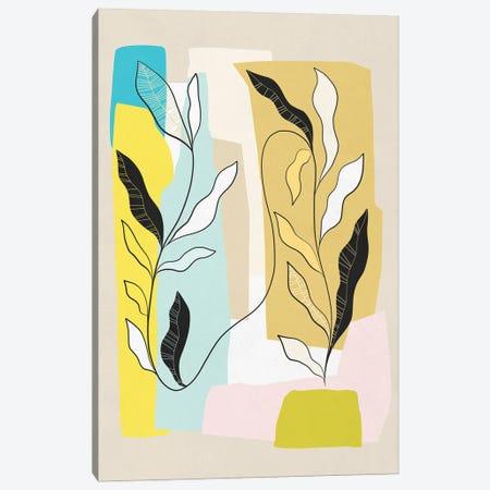 My Favourite Plant Trop I Canvas Print #DVR90} by Dominique Vari Art Print
