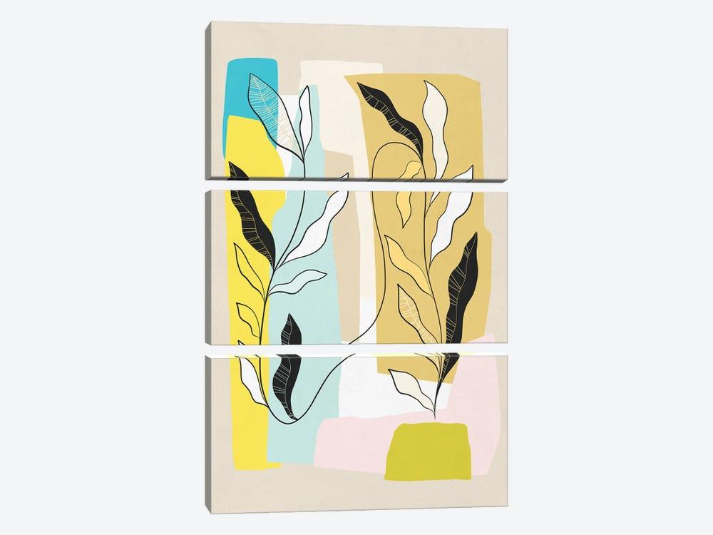 My Favourite Plant Trop I by Dominique Vari 3-piece Canvas Artwork