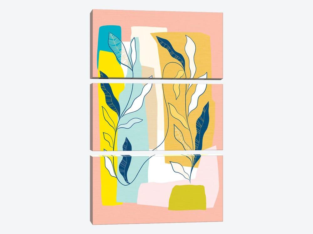My Favourite Plant Trop III by Dominique Vari 3-piece Art Print