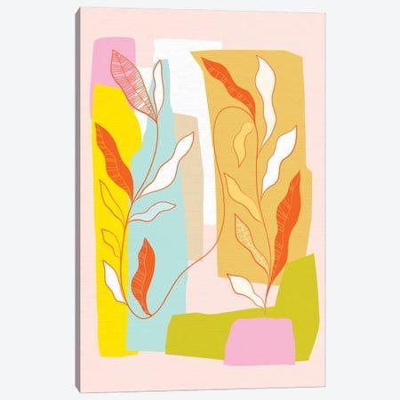 My Favourite Plant Trop IV Canvas Print #DVR92} by Dominique Vari Art Print