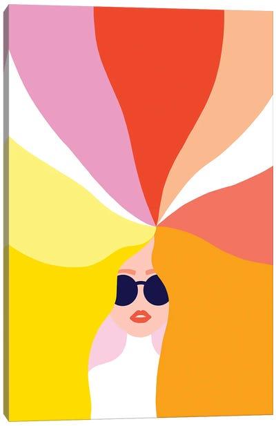 Rainbow Girl I Canvas Art Print