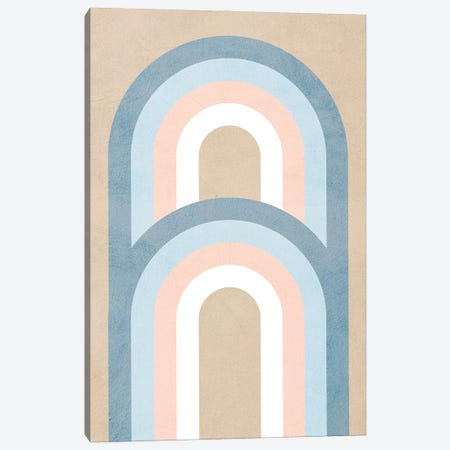 Double The Rainbow Canvas Print #DVR9} by Dominique Vari Canvas Art Print