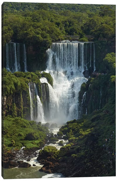 Iguazu Falls, Argentina, seen from Brazil side Canvas Art Print