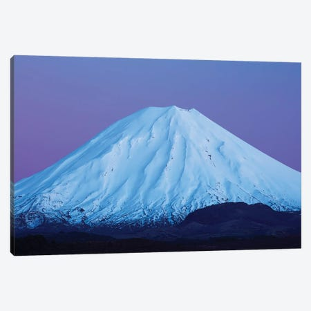 Mt Ngauruhoe At Dawn, Tongariro National Park, Central Plateau, North Island, New Zealand Canvas Print #DWA48} by David Wall Canvas Artwork