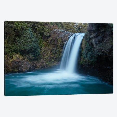 Tawhai Falls, Whakapapanui Stream, Tongariro National Park, Central Plateau, North Island, New Zealand Canvas Print #DWA54} by David Wall Canvas Artwork