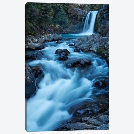 Tawhai Falls, Whakapapanui Stream, Tongariro National Park, Central Plateau, North Island, New Zealand Canvas Print #DWA55} by David Wall Canvas Art