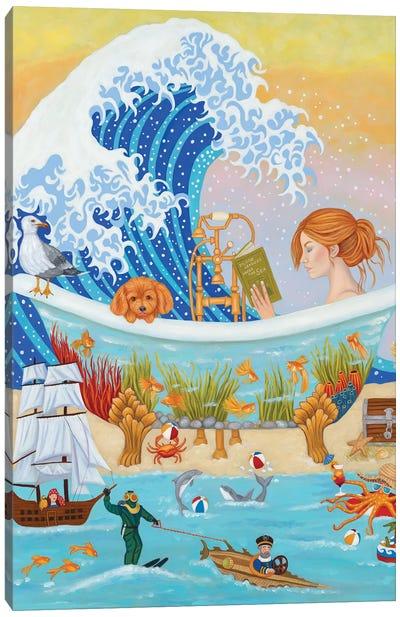 20000 Leagues Under The Sea Canvas Art Print