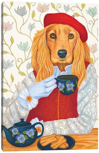 Afternoon Tea Canvas Art Print