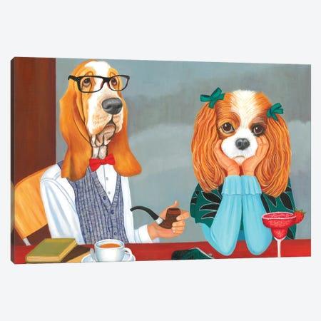 Blind Date Canvas Print #DWB31} by Dawna Boehmer Canvas Wall Art