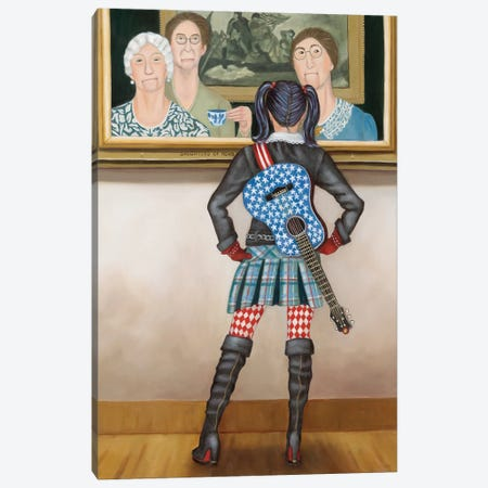 Daughters Of Revolution Canvas Print #DWB36} by Dawna Boehmer Art Print
