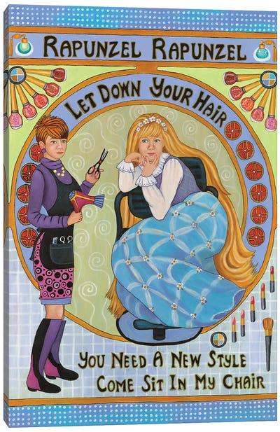Rapunzel Rapunzel Canvas Art Print