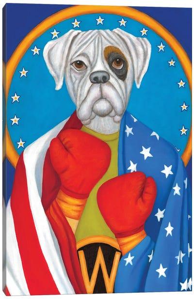 The Boxer Canvas Art Print