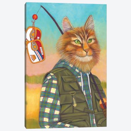 The Fisher King Canvas Print #DWB50} by Dawna Boehmer Canvas Artwork