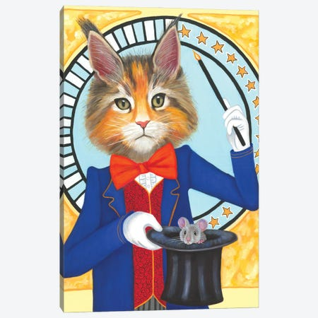 The Magician Canvas Print #DWB52} by Dawna Boehmer Canvas Artwork