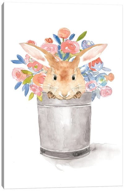 Camilla The Bunny Canvas Art Print