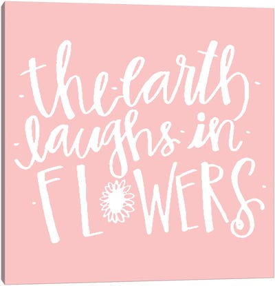 Earth Laughs in Flowers Canvas Art Print