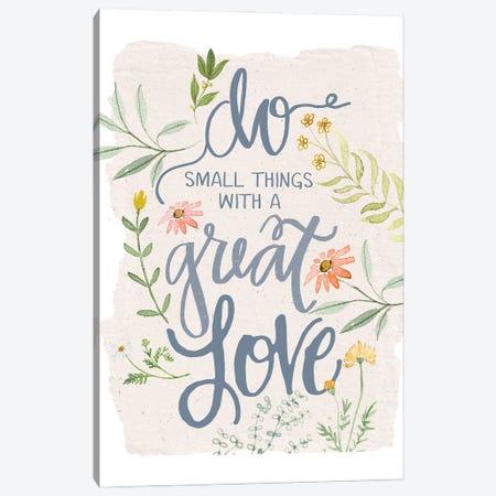 Great Love Flowers Canvas Print #DWD19} by Dogwood Portfolio Canvas Art