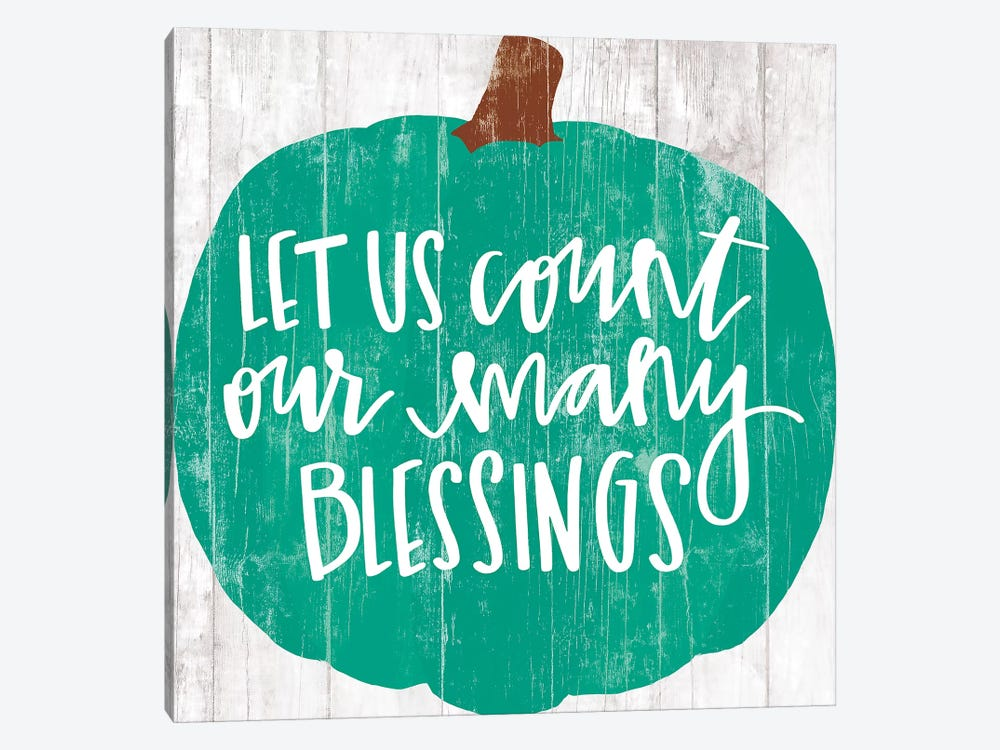 Our Many Blessings     by Dogwood Portfolio 1-piece Canvas Art