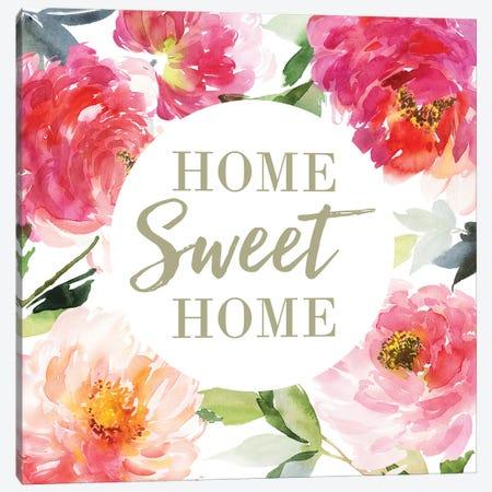 Home Sweet Home Canvas Print #DWD26} by Dogwood Portfolio Canvas Artwork